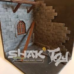 Diorama thème Berserk médiéval
