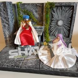 Diorama thème Saint Seiya Abel
