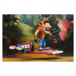 Crash Bandicoot Jet Board NECA