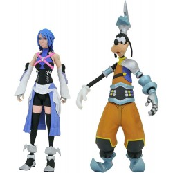 Aqua & Goofy  - Kingdom Hearts