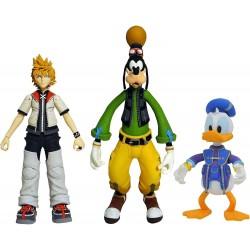 Roxas, Donald et Goofy  -...