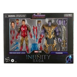 Pack 2 figurines 2021 Iron...