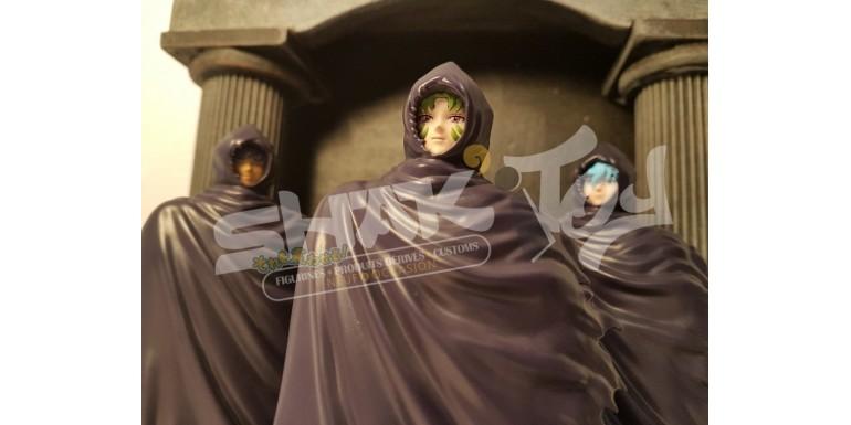 Set Saint Seiya des trois surplis mystérieux Bandai